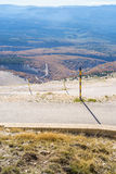 View from the Mount Ventoux, Vaucluse, Royalty Free Stock Photography