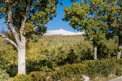 View from the Mount Ventoux, Stock Image