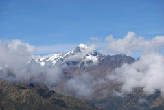 View of Mount Veronica in the Cordillera Urubamba Stock Photography