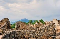 View of Mount Vesuvius Royalty Free Stock Photos