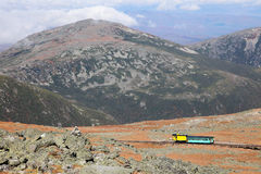 View from Mount Washington Royalty Free Stock Photography