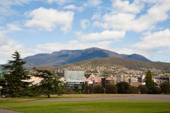 View of Mount Wellington Royalty Free Stock Photos