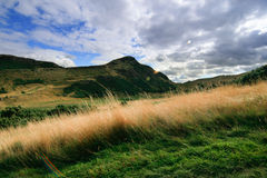 View of the mountain. In the autumn Royalty Free Stock Image