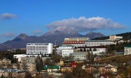 View on mountain Beshtau. Stock Photo