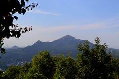 View of the mountain Beshtau. Pyatigorsk, Russia stock image