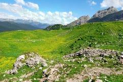 View of the mountain Brenta. Dolomites Italy Stock Photo