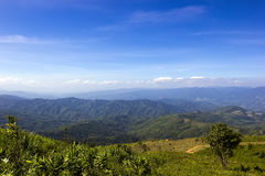 View from the mountain Chiangrai Royalty Free Stock Photo