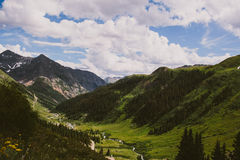 View of mountain in Colorado Stock Photo