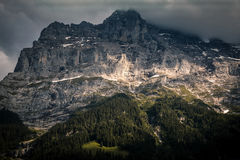 View of mountain at Grindelwald. Switzerland Stock Photos