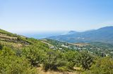 View from the Mountain Heights Royalty Free Stock Photography