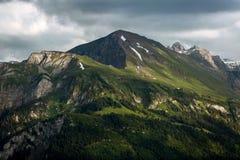 View of mountain at Interlaken. Switzerland Stock Image
