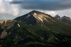 View of mountain at Interlaken. Switzerland Royalty Free Stock Image