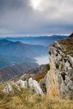 View from the mountain Kozjak Stock Images