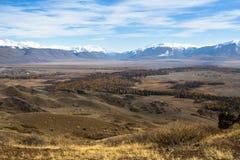 View of the mountain North-Chuya ridge of Altai Republic Royalty Free Stock Image
