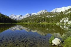 Little Lakes Valley, Eastern Sierra, California Royalty Free Stock Images