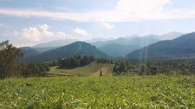 View mountain. Mountain view poland Royalty Free Stock Photos