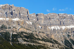 Bow Valley Mountains Royalty Free Stock Photos