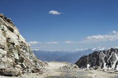 View on mountain range royalty free stock image