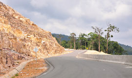 View of the mountain road Stock Image