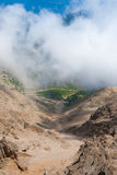 View on mountain road from mount Tahtali Stock Photos