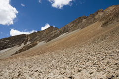 View of mountain and sky to Nubra valley, Leh Stock Photography