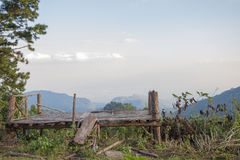 View of the mountain. From Thailand Royalty Free Stock Photos
