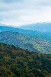 The view of mountain Stock Photography