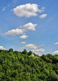View of the mountain three crosses, Vilnius, Lithuania Royalty Free Stock Photography
