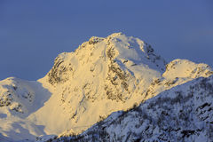 View of mountain Viktindan Stock Photography