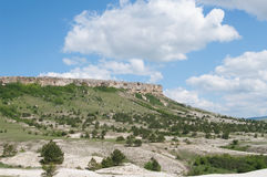 View of mountain White Rock, Crimea Stock Photography