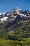 View of Mountain at Zermatt. Switzerland Stock Photos