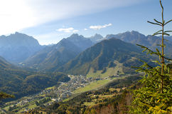 View on mountains Stock Images
