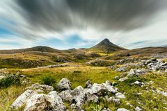 A view from the mountains of Abruzzo Italy Stock Photo