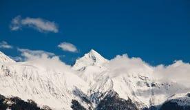 View of the mountains Stock Photos