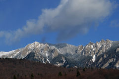View mountains Ciucaş. Ciucaş massive mountains of rare beauty Royalty Free Stock Photography