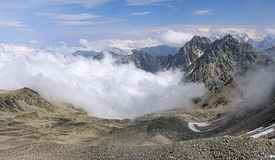 View of the mountains in Digoria, Caucasus Stock Photography