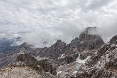 The view of the mountains - Dolomites, Italy Royalty Free Stock Photos