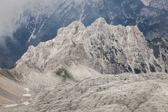 The view of the mountains - Dolomites, Italy Royalty Free Stock Photography
