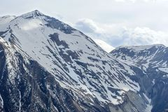 Caucasus mountains royalty free stock photography