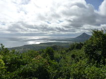 View Of Mountains And Indian Ocean Stock Images
