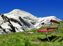 Mont Blanc-France Royalty Free Stock Images