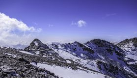 Mountains Sierra Nevada, Andalusia, Spain stock photography