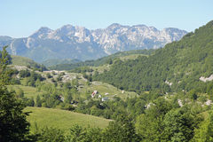 View of the mountains Royalty Free Stock Photography