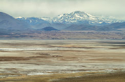 View of mountains in Sico Pass Royalty Free Stock Photography