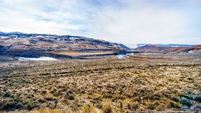 View of the Mountains and Thompson River Valley Royalty Free Stock Photos