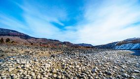 View of the Mountains and Thompson River Valley Stock Photography