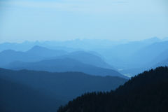 View of mountains Wank Stock Photography