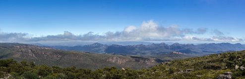 View from Mountt William, Grampians National Park, Victoria, Australia stock photography