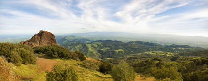 View from Mt Diablo Stock Image