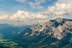 View of Mt. Dobratsch Stock Photography